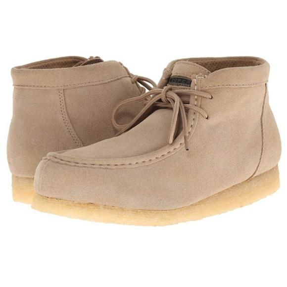676b961de7f0 NEW Mens Roper Tan Suede Desert Chukka Boots 10.5